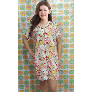Harga cantik piyama   baju tidur daster motif karakter ld 104cm   baby hk | HARGALOKA.COM
