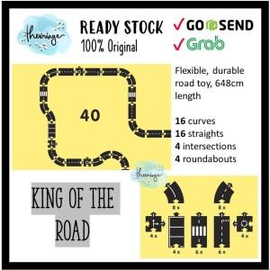 Harga waytoplay original king of the road 40 pcs   way to play track | HARGALOKA.COM