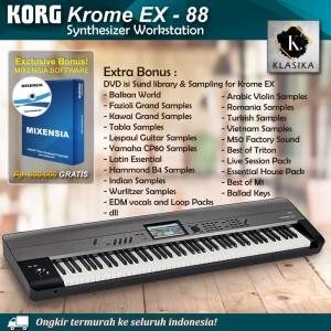 Harga korg krome ex 88 kromeex 88 synthesizer keyboard garansi | HARGALOKA.COM