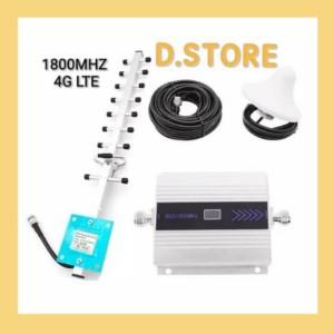 Harga boster repeater antena penguat sinyal hp gsm 4g lte 1800mhz   HARGALOKA.COM