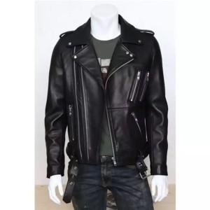 Harga jaket kulit asli domba garut jaket motor jaket pria   HARGALOKA.COM