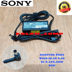 Harga adaptor charger original sony vaio adp 45ud svf14 svf15 10 5v 2   HARGALOKA.COM