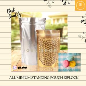 Harga aluminium foil ziplock standing pouch kemasan makanan 15x21 | HARGALOKA.COM
