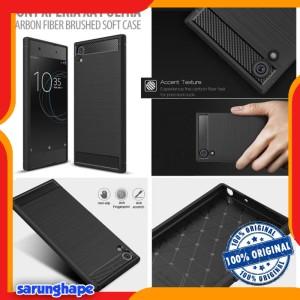 Harga sony xperia xa1 ultra   premium carbon fiber brushed soft case | HARGALOKA.COM