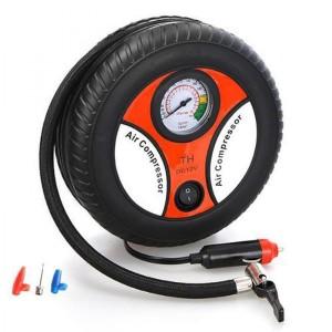 Harga kompresor angin mini portable pompa udara ban mobil motor | HARGALOKA.COM