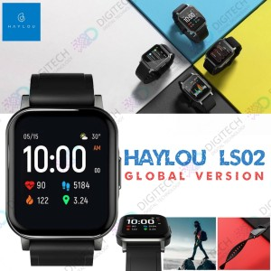 Harga haylou ls02 smartwatch 1 4 inch tft screen bluetooth global version   free | HARGALOKA.COM