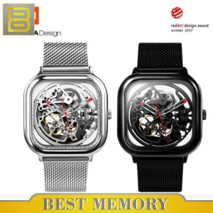 Harga ciga hollowed out design automatic mechanical watch     HARGALOKA.COM