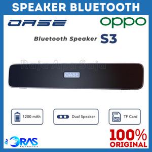 Harga speaker bluetooth oase s3 full bass   spiker speker sepiker | HARGALOKA.COM