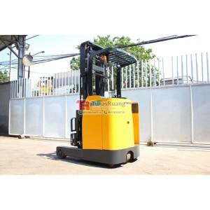 Harga 1 5 ton reach truck komatsu 4 meter 2 stage forklift | HARGALOKA.COM
