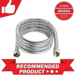 Harga selang shower bidet fleksibel flexibel kuningan air panas | HARGALOKA.COM