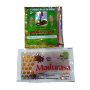 Harga jamu tangkur cobra plus madu madurasa   ekstrak ginseng amp | HARGALOKA.COM