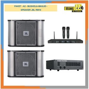 Harga paket sound mushola masjid  a2  speaker jbl | HARGALOKA.COM