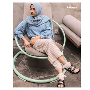 Harga kaos kaki jempol kaos kaki muslim almira renda 34 cream 34 | HARGALOKA.COM