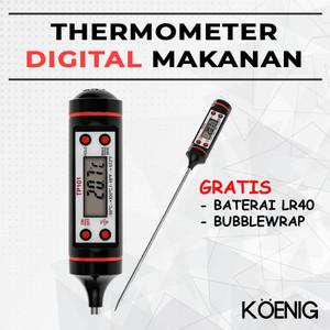 Harga termometer digital thermometer masak makanan ukur suhu kue kopi | HARGALOKA.COM