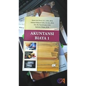 Harga buku akuntansi biaya 1   akuntansi | HARGALOKA.COM