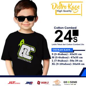 Harga baju kaos anak beaconcream roket logo tanggung simple keren   | HARGALOKA.COM