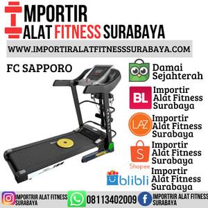 Harga treadmill elektrik motorized fc sapporo silver alat fitness | HARGALOKA.COM
