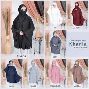 Harga hijab khimar cadar lengan | HARGALOKA.COM
