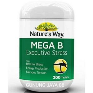 Harga nature 39 s way suplemen mega b executive stress isi 200 | HARGALOKA.COM
