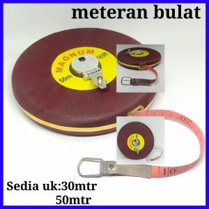 Harga meteran bulat 30 50 meter bagus meteran roll murah meteran tanah   30 | HARGALOKA.COM