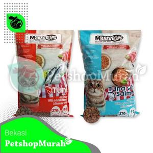 Harga makanan kucing cat food markotop 1 kg non maxi cat bolt murah 1kg     HARGALOKA.COM
