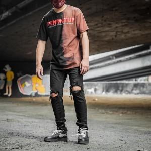 Harga denimitup tee saturn black   baju kaos   | HARGALOKA.COM