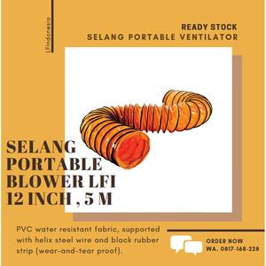 Harga selang portable ventilator flexible hose exhaust blower 12 inch 5 | HARGALOKA.COM