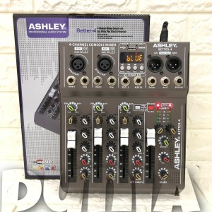 Harga mixer ashley better 4 original 4 channel | HARGALOKA.COM