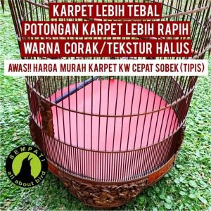 Harga karpet dasar sangkar burung murai no 1 2 3 | HARGALOKA.COM