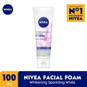 Harga nivea facial foam whitening sparkling | HARGALOKA.COM