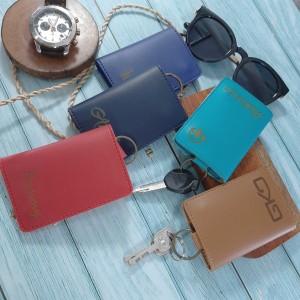 Harga free nama key wallet custom holder stnk sim   4 slot eco   | HARGALOKA.COM