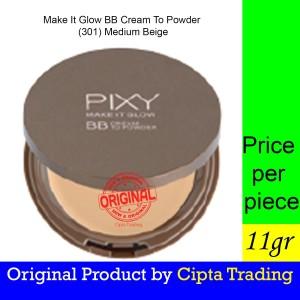 Harga base makeup   pixy   make it glow beauty bb cream to powder 301   HARGALOKA.COM