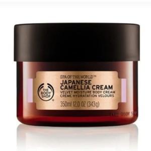 Harga the body shop japanese camelia body cream 350 ml seri | HARGALOKA.COM