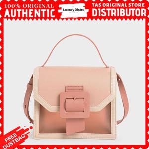 Harga tas slingbag wanita charles and keith buckled original store   | HARGALOKA.COM
