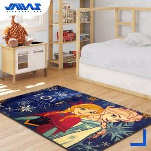 Harga karpet elsa anna frozen 100x140cm velvet karakter disney   HARGALOKA.COM