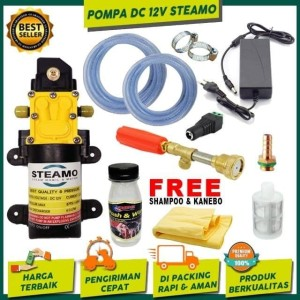 Harga Alat Cuci Motor Mobil Taman Ac Pompa Air Dc 12v Lengkap Katalog.or.id
