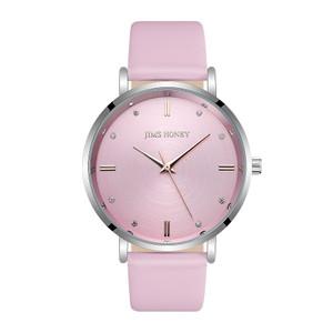 Harga sale 76 jam tangan kulit jimshoney jt 8123 murah bagus   merah   HARGALOKA.COM