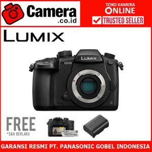 Harga panasonic lumix dmc gh5 body only free vlog | HARGALOKA.COM
