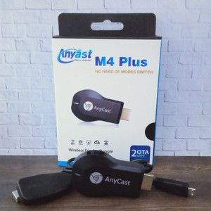 Harga alat hp ke tv wireless  anycase m4 plus hdmi dongle usb wireles wf | HARGALOKA.COM