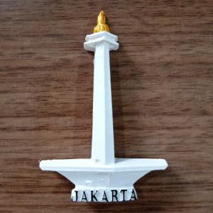 Harga magnet tempelan kulkas souvenir jakarta monas | HARGALOKA.COM