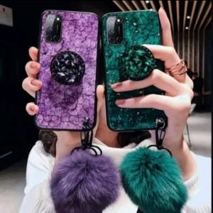 Harga cover case model pom glitter case fashion oppo a92 2020   | HARGALOKA.COM