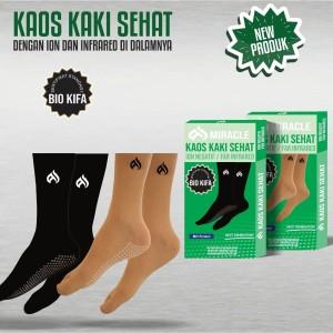 Harga kaos kaki sehat ion negativ   hitam all | HARGALOKA.COM