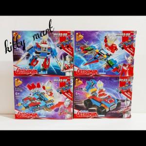 Harga brick lego ultraman set isi 4 box sesuai | HARGALOKA.COM