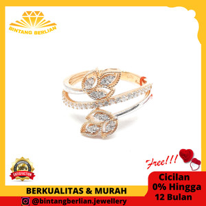 Harga cicin emas kuning asli 375 perhiasan emas original fashion   HARGALOKA.COM