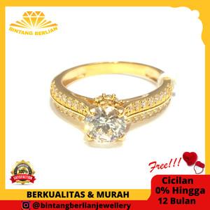 Harga cicin emas kuning asli 700 perhiasan emas original fashion   HARGALOKA.COM