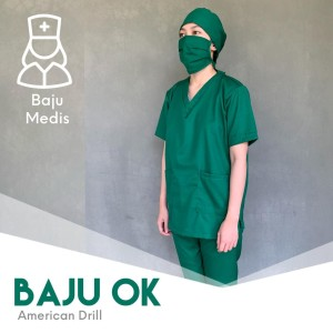 Harga baju ok baju oka baju perawat baju medis medical cloth baju oprasi   l | HARGALOKA.COM