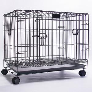 Harga kandang besi lipat size l roda 78x 46 5x57cm kucin anjing kelinci   | HARGALOKA.COM