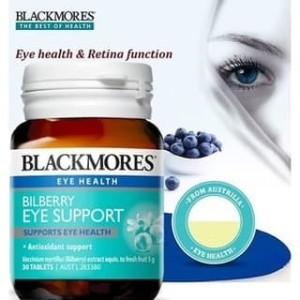 Harga blackmores bilberry eye support advanced 30 | HARGALOKA.COM