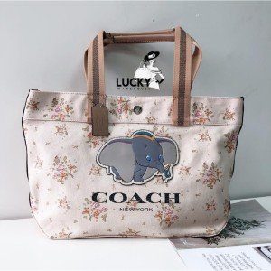 Harga coach x disney tote with dumbo   original 100 | HARGALOKA.COM