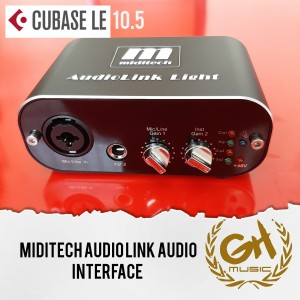 Harga miditech audiolink light soundcard recording zoom podcast | HARGALOKA.COM